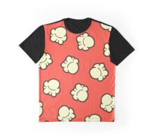 Popcorn Pattern Graphic T-Shirt