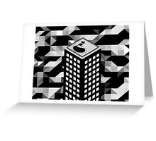 Isometric Skyscraper Greeting Card
