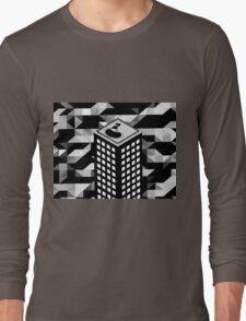 Isometric Skyscraper Long Sleeve T-Shirt
