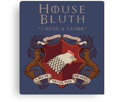 House Bluth, I Need a Favor Canvas Print