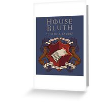 House Bluth, I Need a Favor Greeting Card
