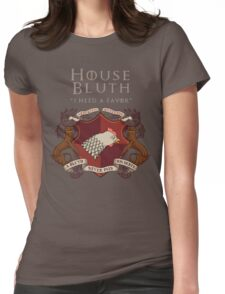 House Bluth, I Need a Favor Womens Fitted T-Shirt
