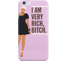 NeNe Leakes: I am very rich, B*tch. iPhone Case/Skin