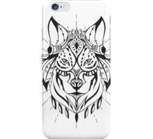 Ethnic Wolf iPhone Case/Skin