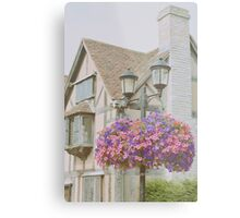 Shakespeare's Birth Place Metal Print