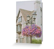 Shakespeare's Birth Place Greeting Card