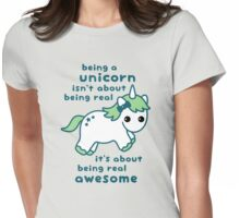 Being a Unicorn Womens Fitted T-Shirt