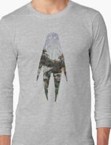 Spirit Silhouette  Long Sleeve T-Shirt