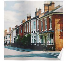 Stratford-upon-Avon Houses Poster
