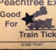 Mall Train Sticker