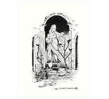 Dark Souls - The Undead Parish Art Print