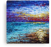 Colors Bursting Canvas Print