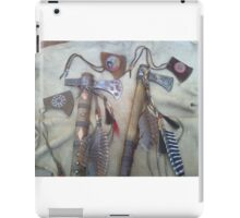Tomahawks with covers iPad Case/Skin