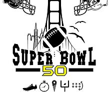 Super Bowl 50 design by olivergraham