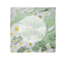 Choose happiness Scarf