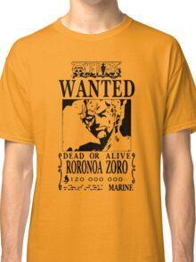 Zoro Bounty Classic T-Shirt