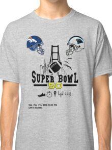 Super Bowl 50 design Classic T-Shirt