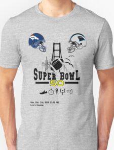 Super Bowl 50 design Unisex T-Shirt