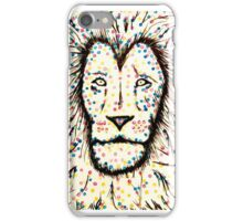 Dot spot lion iPhone Case/Skin