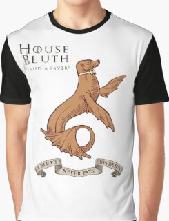 Bluth Family Seal Graphic T-Shirt