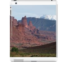 Fisher Towers and La Sals iPad Case/Skin