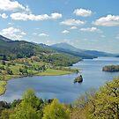 Queen's View - Loch Tummel - Scotland by Arie Koene