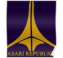 Asari Republics Poster