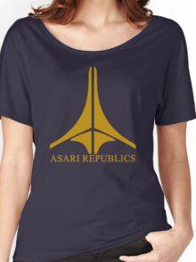 Asari Republics Women's Relaxed Fit T-Shirt
