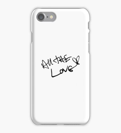 All The Love Harry Styles iPhone Case/Skin