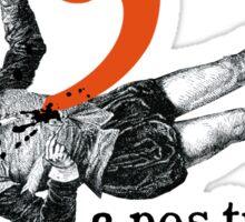 Shakespeare Murder Mystery Punctuation Puncture Sticker