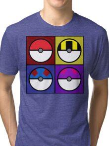 Pokeball minimalist Tri-blend T-Shirt