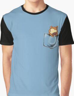 Bidoof Sleeping in Pocket Graphic T-Shirt