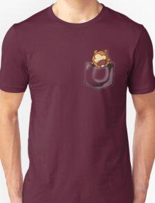 Bidoof Sleeping in Pocket Unisex T-Shirt