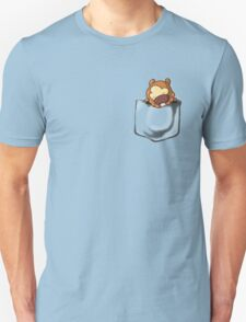 Bidoof Sleeping in Pocket Unisex T-Shirt
