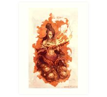 Dark Souls - Quelaag, The Chaos Witch Art Print