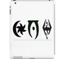 TES 3,4,5 Logos iPad Case/Skin