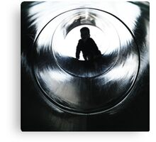 like James Bond, but younger Canvas Print