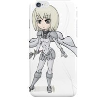 Claire Claymore with Teresa iPhone Case/Skin