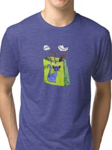 Mookie Cat's in the Bag Tri-blend T-Shirt