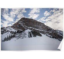 Fairview Mountain, Lake Louise, Alberta  Poster