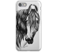"""Beauty in Ink"" - Kathiawari mare iPhone Case/Skin"