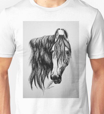 """Beauty in Ink"" - Kathiawari mare Unisex T-Shirt"