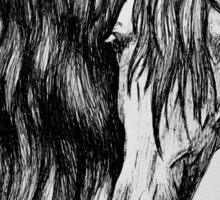 """""""Beauty in Ink"""" - Kathiawari mare Sticker"""