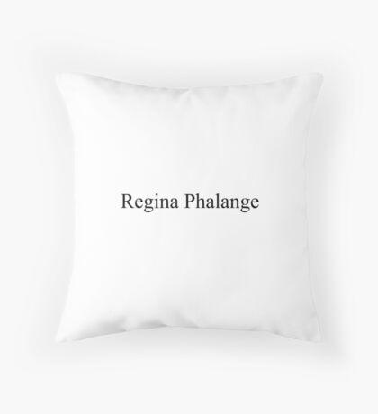 Regina Phalange Design Throw Pillow