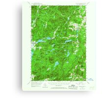 New York NY Paradox Lake 136390 1953 62500 Canvas Print