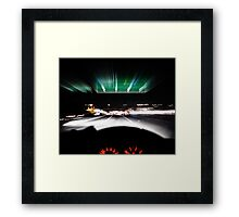 driving home Framed Print
