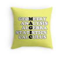 Math is Magic Throw Pillow