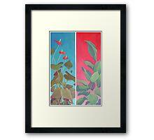 Diptych Framed Print