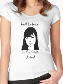 Spirit Animal Ludgate Women's Fitted Scoop T-Shirt