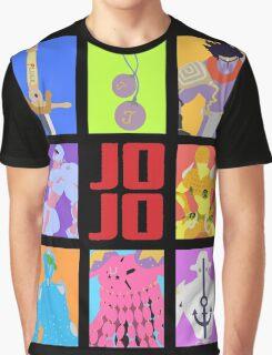 JoJo's Bizarre Adventure - Weapons & Stands Graphic T-Shirt